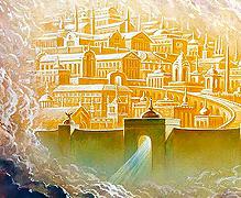 Кавтарадзе Храм, город и Град небесный